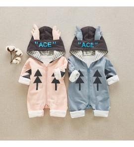 Baby Clothing Winter Wear Spring One -Piece Children's Cute Cotton Newborn Coat
