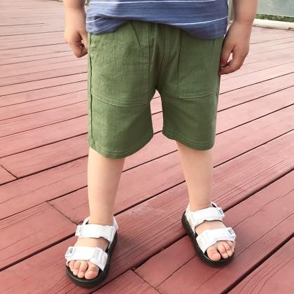 Kids Boys Clothing Bottoms Trousers Beach Casual Pants Summer Cotton Linen Short