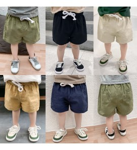 Kids Boys Clothing Bottoms Children's Male Pants Thin Section Cotton Summer Wear