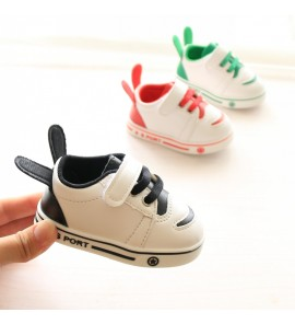 Kids Boys Shoes Summer Spring Toddler Leather Children Sport White Male Sneakers