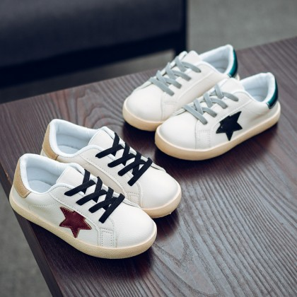 Kids Boys Shoes Children's Tide New White Sporty Sneakers Male Toddler Soft Sole
