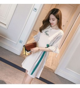 Women Maternity Nursing Wear Summer Pregnancy Postpartum Summer Outwear Dress