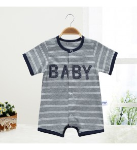 Baby Clothing Set Dress Short-Sleeved Cotton Jumpsuit Newborn Summer New Clothes