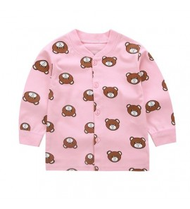 Baby Clothing Tops Children's Cute Summer Top Spring Shirts Long Sleeve Cardigan