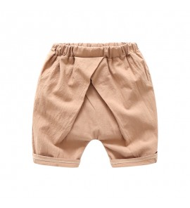 Kids Clothing Bottoms Boys Cute Cotton Short Pants Children Outwear Korean Style