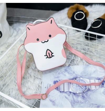 Kids Girls Bags Cute Cartoon Mini Leather Female Casual Messenger Chain Fashion