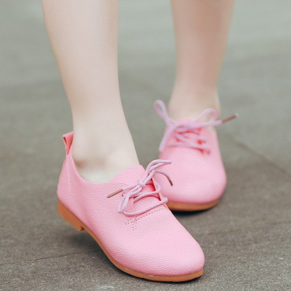 kids girls shoes cute princess leather soft sole bottom