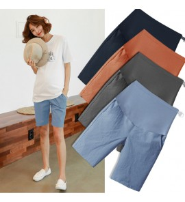 Women Maternity Pants Summer Female  Stomach Lift Comfortable Pregnancy Trousers