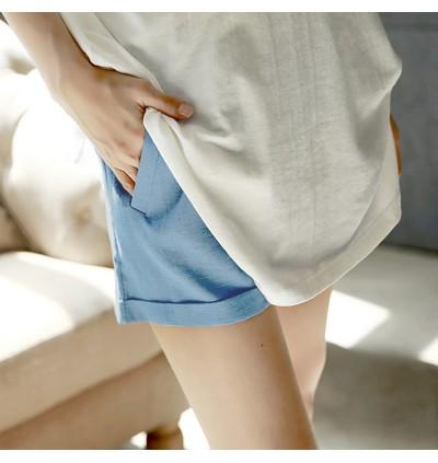 Women Maternity Pants Female Short Pants Cotton Summer Wear Pregnancy Outfits
