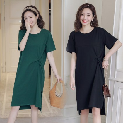 Women Maternity Nursing Wear Summer Breastfeeding Dress Female Outfits Loose
