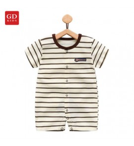 Baby Clothing Set Dress Romper Newborn Cotton Jumpsuit Summer Stripes Outwear