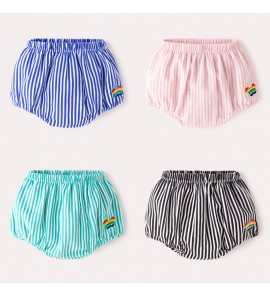 Baby Clothing Bottoms Fart Short Newborn Cotton Summer Cute Pants Korean Style