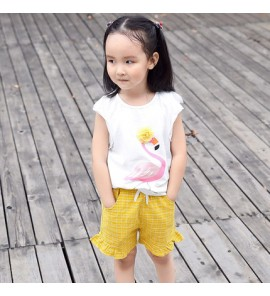 Kids Clothing Bottoms Summer Ruffle Pants Children's Shorts Cotton Wear Outfits