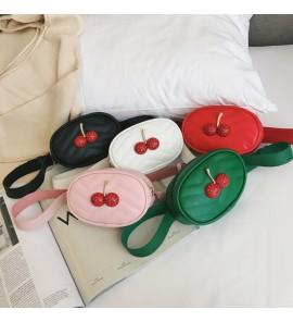 Kids Bags Girls Cherry Messenger Handbag Korean Style Children's  Shoulder Sling
