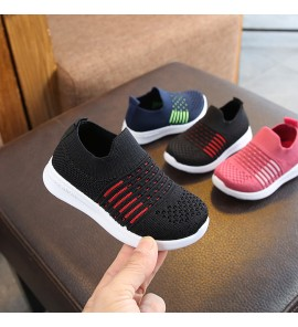 Kids Shoes Boys Sports Male Rubber Mesh Sneakers Children's Rubber Shoes