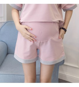 Women Maternity Clothing Shorts Cotton Summer Pregnant Female Outwear Fashion