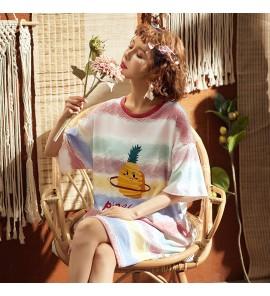 Women Maternity Sleepwear Loose Cotton New Summer Night Wear Summer Pregnancy