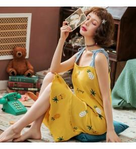 Women Maternity Sleepwear Sling Cotton Night Wear Comfortable Postpartum Outfits