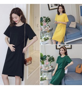 Women Maternity Nursing Wear Postpartum Summer New Fashion Breastfeeding Clothes