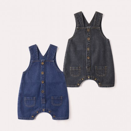 Baby Clothing Dress Girls Denim Jumper Dungaree Summer New Cute Fashion Outfits