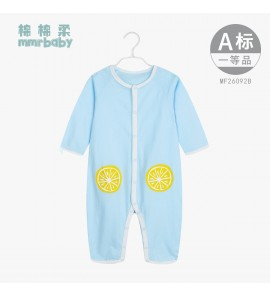 Baby Clothing Sleepwear Newborn Cotton Comfortable Night Wear Jumpsuit Autumn