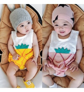 Baby Clothing Sleepwear Frog-suit Newborn Summer Cotton Night Outfits Tide Cute
