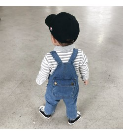 Kids Clothing Set Boys Jumper Denim Outfit Korean Style Cute Tide Summer Wear
