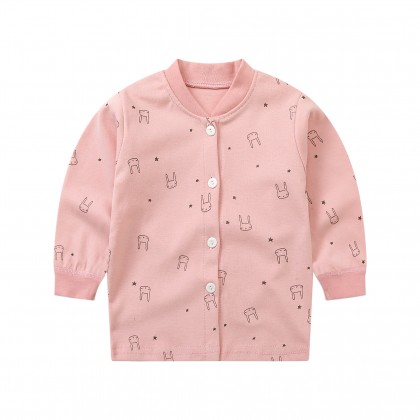 Baby Clothing Tops Cotton Spring Jacket Long Sleeved Cartoon Tide Sweater Outfit