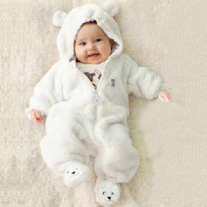 Baby Clothing Winter Wear  Jumpsuit Newborn Coat Cotton Thick Clothes Outwear