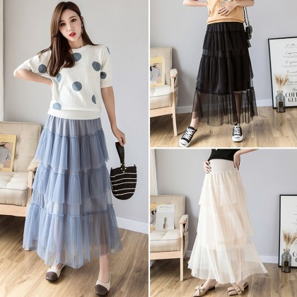 Maternity Clothing Skirts Lace Long Women Summer Pregnancy Tide Cotton Outfits