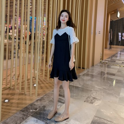 Maternity Clothing Nursing Wear Women Breastfeeding Clothes Cotton Cute Dress