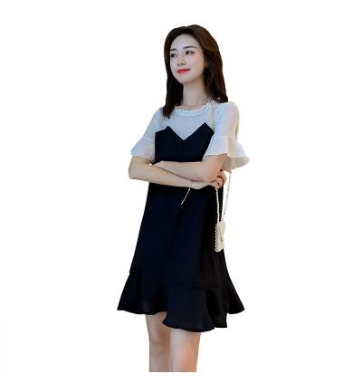 Maternity Clothing Nursing Wear Women Breastfeeding Clothes Cotton Cute Dress