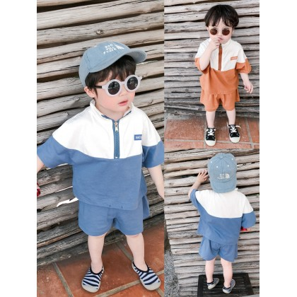 Kids Clothing Boys Set Cotton Shorts Long Sleeve Shirts Jacket Children Male Wear