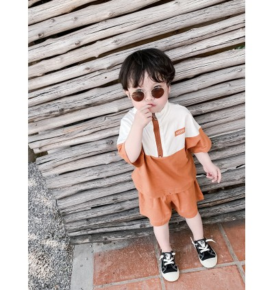 Kids Clothing Boys Set Cotton Shorts Long Sleeve Shirts Jacket Children Male Wear