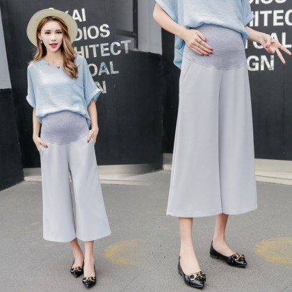 Maternity Clothing Shorts Summer Loose Cotton Trousers Stomach Lift Pregnancy