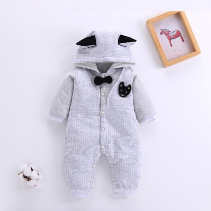 Baby Clothing Winter Wear Clothes Jumpsuit Newborn Cotton Long Sleeved Rompers