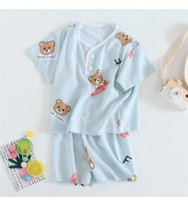 Kids Clothing Boys Sleepwear Soft Cotton Children's Night Wear Tide New Set