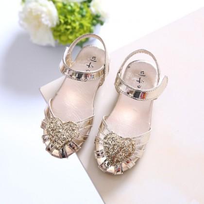 Kids Shoes Girls Flats Doll Children's Female Soft Bottom Casual Princess New