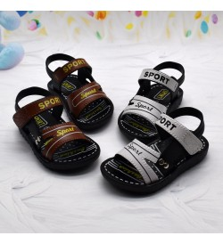 Kids Shoes Boys Children's Male Beach Sandals Flats  Summer Footwear Casual