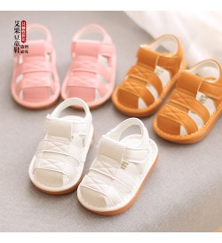 Kids Shoes Boys Casual Soft Bottom Male New Tide Rubber Sandals Beach Footwear