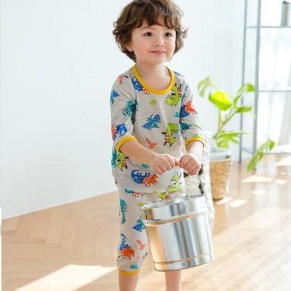 Kids Clothing Boys Sleepwear Children's Cotton Pajamas Thin Cotton Breathable