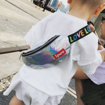 Kids Bags Boys Children's Korean Style Shoulder Messenger Belt Casual Trend Bags