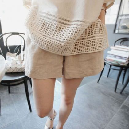 Maternity Clothing Shorts Loose Soft Cotton Summer Spring Pregnancy Women Wear