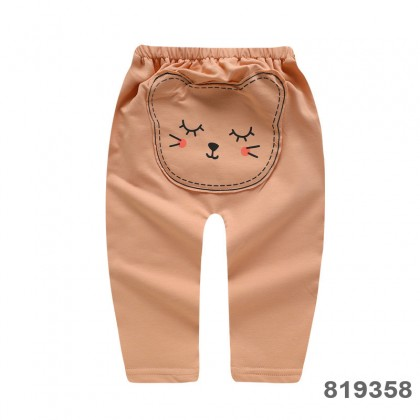 Baby Clothing Bottoms Children's Newborn Soft Cotton Cartoon Style Pants Outwear