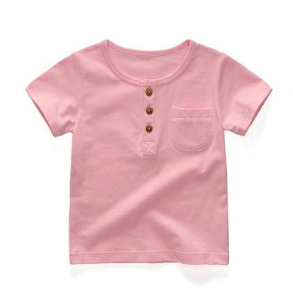 Kids Clothing Boys Tops Children's Soft Cotton Summer Short Sleeved T- Shirts