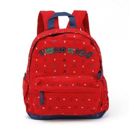 Kids Bags Girls Canvas Cute Children's Backpack School Kindergarten Cartoon Bags