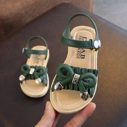 Kids Shoes Girls Rubber Sandals Soft Bottom Children's Casual Shoes Footwear
