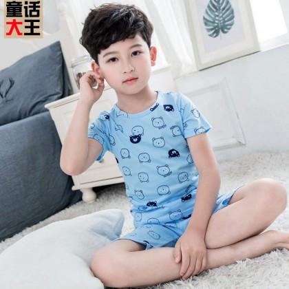 Kids Clothing Boys Sleepwear Soft Cotton Children's Night Wear
