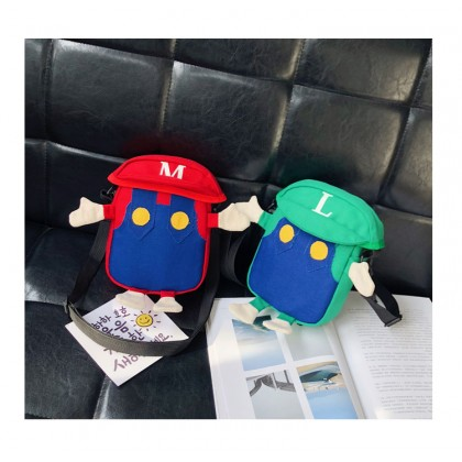 Kids Bags Boys Children's Male Sling Mini Shoulder Pouch Cartoon Bags
