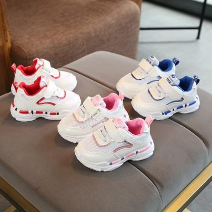 Kids Shoes Boys Sports Soft Bottom Rubber Mesh Male Children's Running Footwear